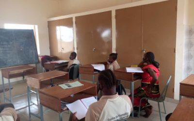 Bosco Global: de nou a classe a Burkina Faso amb totes les mesures de seguretat