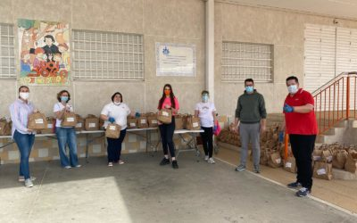 La Asociación Juvenil Carabela compromesa amb les famílies de Huelva