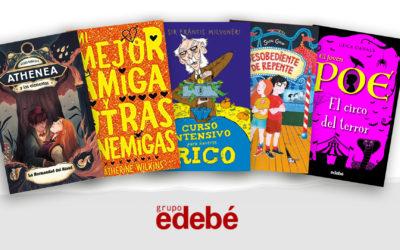 Humor, misteri, sostenibilitat, igualtat de gènere i també clàssics, novetats edebé de Literatura Infantil