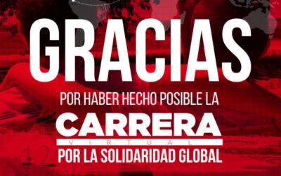 Bosco Global: Gràcies, gràcies i més gràcies per la implicació en la #CursaperlaSolidaritatGlobal