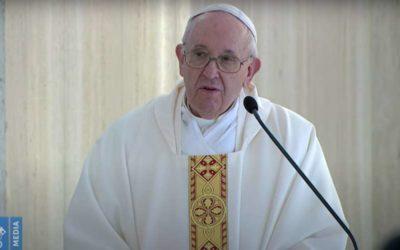 """El Papa Francesc: """"Reconeguem al Senyor en el rostre dels estrangers"""""""