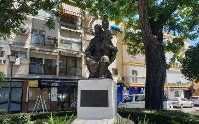 El monument a Maria Auxiliadora de Triana recupera tot la seua esplendor