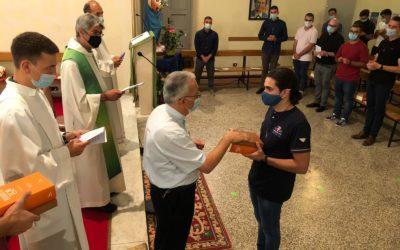 Dos joves de la Inspectoria Salesiana Maria Auxiliadora comencen a Itàlia el noviciat salesià