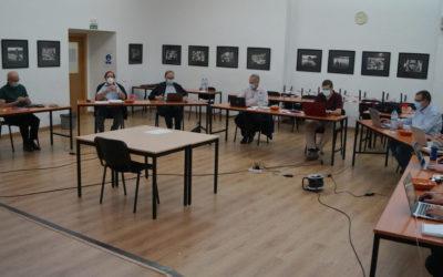 El conseller per a la Regió Mediterrània visita el Consell de la Inspectoria Salesiana Maria Auxiliadora durant la sessió d'octubre