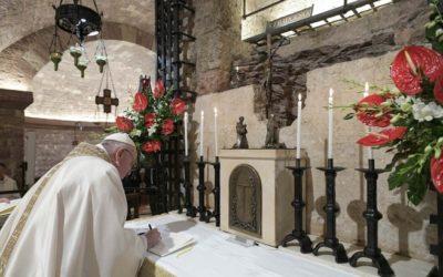 """Nova encíclica del Papa Francesc """"Fratelli Tutti"""": per una cultura de pau i diàleg a tot el món"""