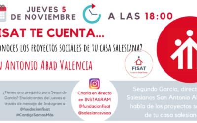 """Les cases salesianes apropen els seus projectes socials a la Família Salesiana a través de la iniciativa """"FISAT te cuenta"""""""
