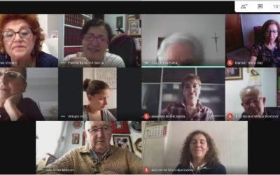 El consell d'ADMA Sevilla es reuneix per posar en comú com s'està visquent la pandèmia