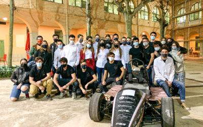 Estudiants d'enginyeria de l'EUSS desenvolupen un nou vehicle de carreres