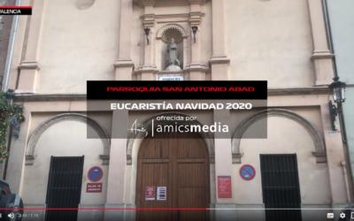 Viu la Missa del Gall en directe des de València amb la Inspectoria Maria Auxiliadora