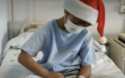 Cartes d'ànim per a infants hospitalitzats i ancians en residències