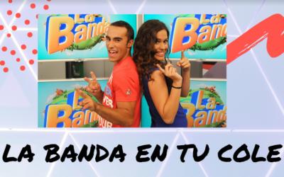 Salesians Úbeda se suma al projecte «La Banda en tu cole» de Canal Sur TV