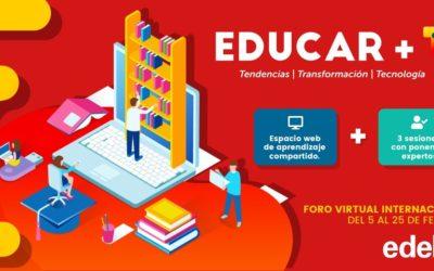 Edebé impulsa la transformació educativa i digital amb el «Fòrum virtual internacional + T³»