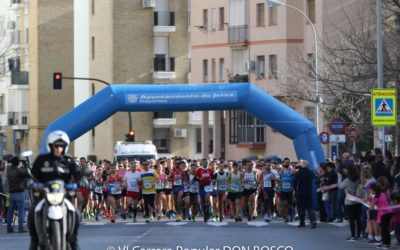 La solidaritat es renova a la Carrera Popular Don Bosco de Jerez