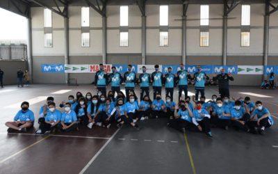 La gira Movistar Megacracks' viatja fins a Sevilla i Córdoba per viure una experiència única al costat dels escolars
