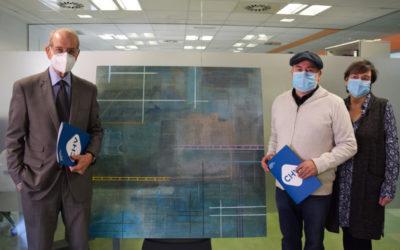 Un professor de Salesians Terrassa participa en la iniciativa solidària «Omplim d'art els hospitals»