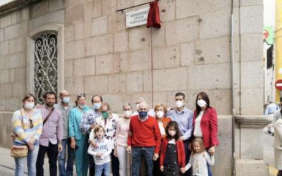 La vida del missioner César Fernández es grava per a l'eternitat en la guia de carrers de Pozoblanco