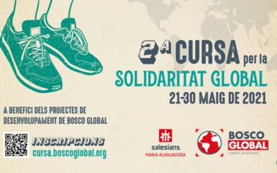 Participa, des de qualsevol lloc, en la 2a Cursa per la #SolidaritatGlobal de Bosco Global