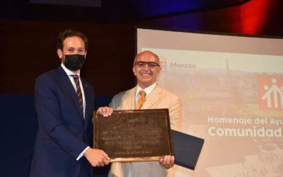 L'Ajuntament de Monzón va retre un homenatge a la congregació salesiana pels seus 70 anys de labor a la ciutat