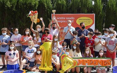 Salesians San Juan Bosco de Granada guanya la IV Lliga 'Recicla con Aceitina'