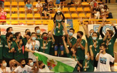 Salesians Elx, campió d'Espanya de voleibol en la categoria Infantil