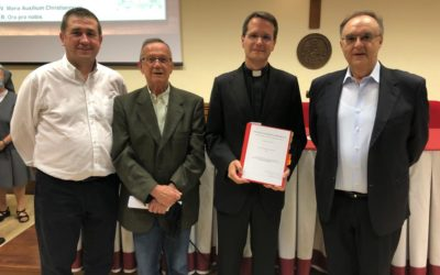 El salesià Miguel Canino proclamat doctor en Història de l'Església per la Pontifícia Universitat Gregoriana de Roma