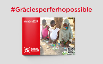 Bosco Global publica la seva memòria d'activitats de l'any 2020