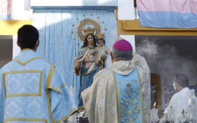 L'Hospital Quirónsalud Córdoba realitza un estudi radiològic a la Verge Maria Auxiliadora del Santuari de Salesians per a la seva restauració