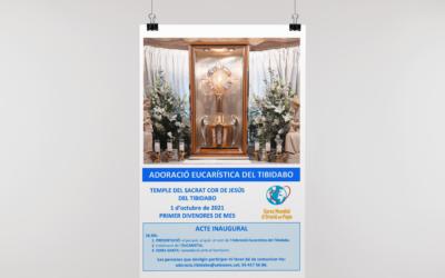 El Temple del Sagrat Cor de Jesús del Tibidabo 'rellança' l'Adoració Eucarística
