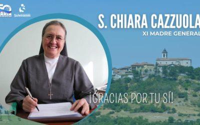 Chiara Cazzuola, escollida Mare General de les Salesianes