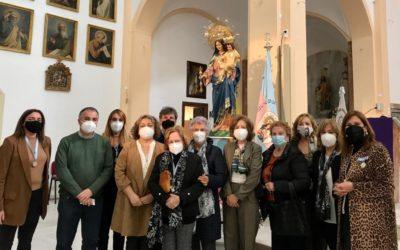 San José del Valle estrena una nueva imagen de María Auxiliadora