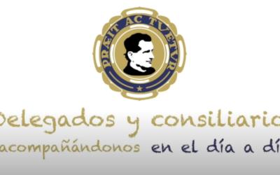 La Federación Regional de los Antiguos Alumnos homenajea a los delegados y consiliarios con motivo del 150 aniversario de la fundación de la asociación mundial