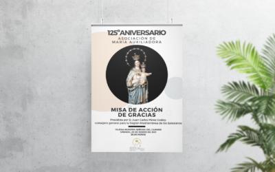 La asociación de María Auxiliadora de Utrera celebra su 125º aniversario con una misa de acción de gracias