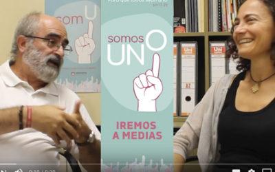 'Anirem a mitges': Pep Alamán y Begoña Simal