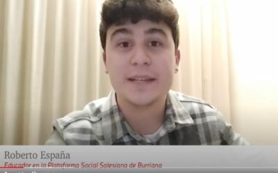 En Confiança: Roberto España. Educador a la Plataforma Social Salesiana de Borriana