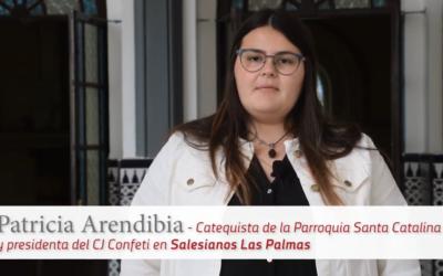 En confiança: Patricia Arendibia, catequista de la Parròquia Santa Catalina de Las Palmas.