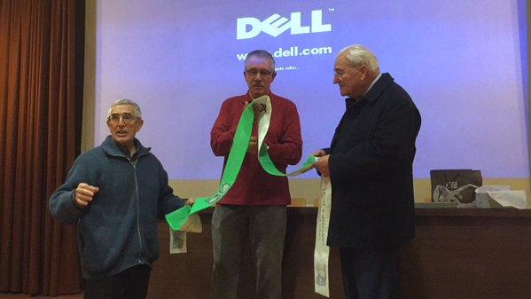 El salesiano Jesús Ros recibe un emocionado homenaje en Huesca