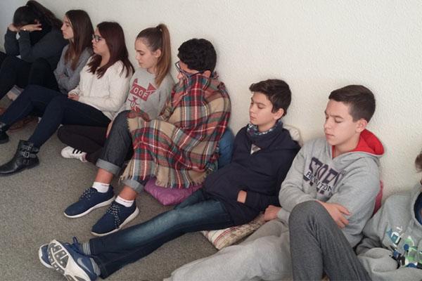 Los alumnos de Salesianos El Campello participan en una experiencia de interioridad