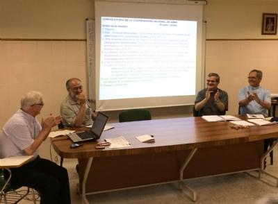 Reunión en Madrid de la Coordinadora Nacional de ADMA