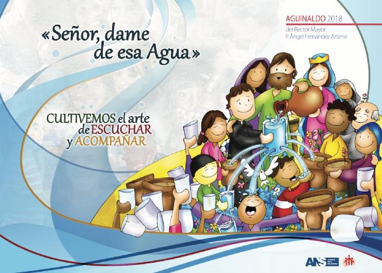 Presentación del póster del Aguinaldo 2018 del Rector Mayor