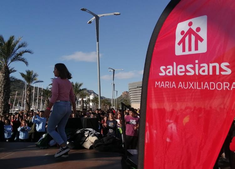 Los centros juveniles salesianos se reencuentran en Cartagena para disfrutar del XIII Día de las Federaciones.