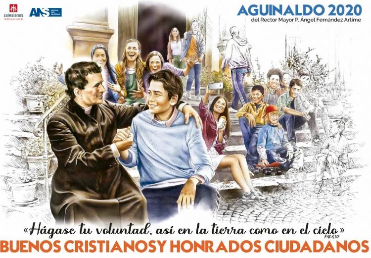 Llega el póster del Aguinaldo del Rector Mayor para el 2020