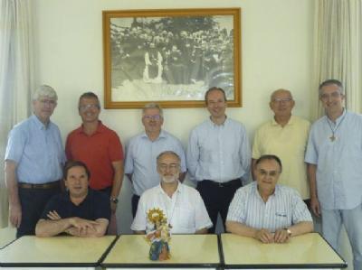 El nuevo P. Provincial y su Consejo se reúnen en El Campello