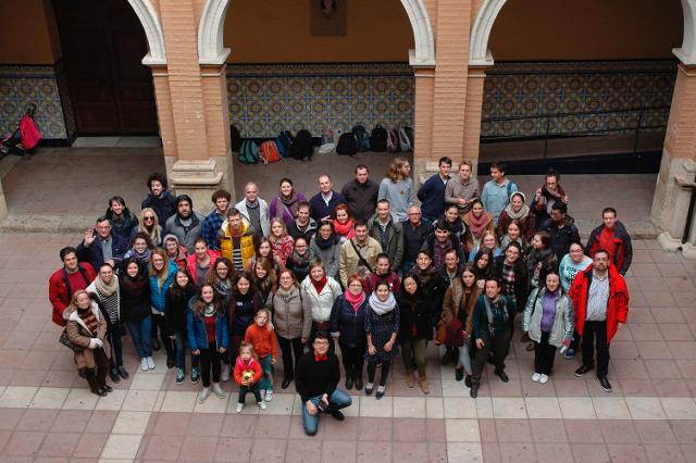 27 familias salesianas de Valencia San Antonio Abad abren sus casas a los jóvenes del Encuentro de Taizé