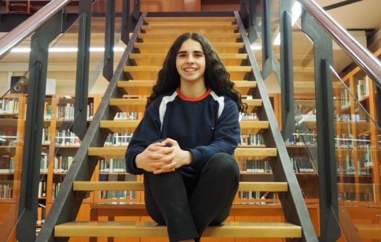 Marta Sierra, alumna de Salesianos Monzón, ganadora de una beca Fundación Amancio Ortega