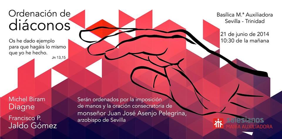 Sevilla acoge la ordenación como diáconos de Francisco Jaldo y Michel Diagne