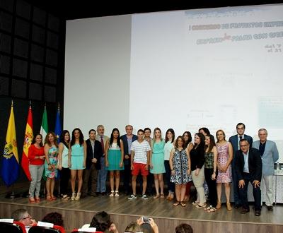 Palma del Río galardonada en el I Concurso de Proyectos Emprendedores