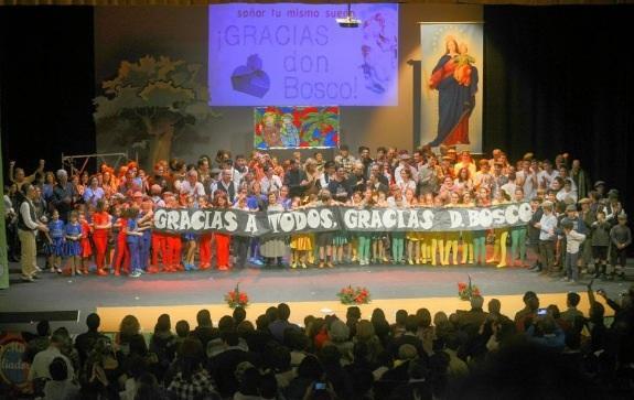 Pozoblanco escenifica la vida de Don Bosco como regalo de Navidad
