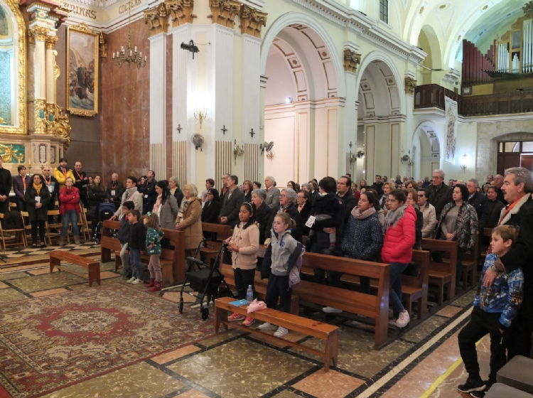 La parroquia San Antonio Abad pone la mirada en el futuro