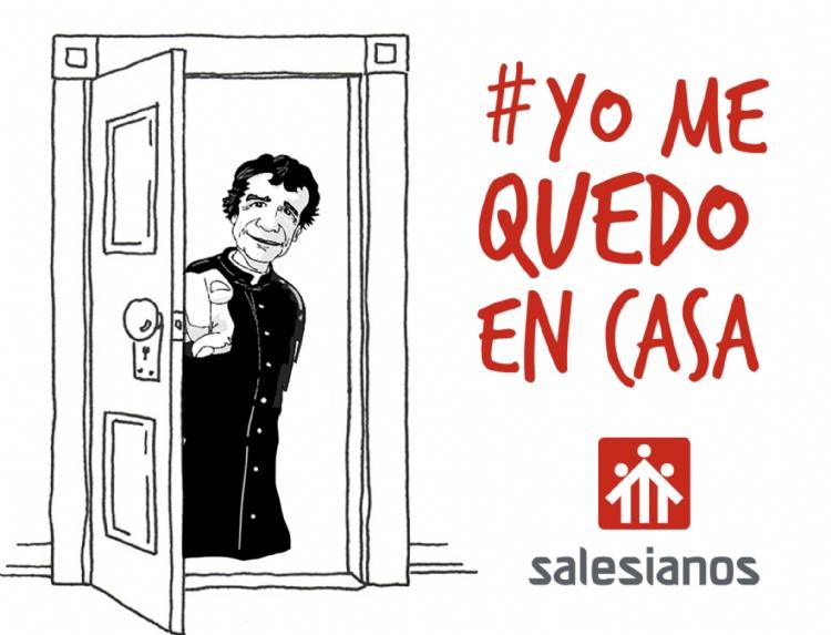 Salesianos Inspectoría María Auxiliadora #YoMeQuedoEnCasa: los Salesianos ante la alerta por el Coronavirus