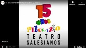 El grupo de teatro Rebulizio de Salesianos Monzón se reinventa en su 15 aniversario